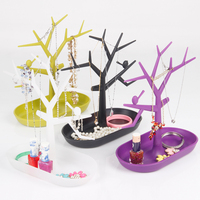 Hot Sales Plastic Utility Jewelry Set Display Tree Wholesales