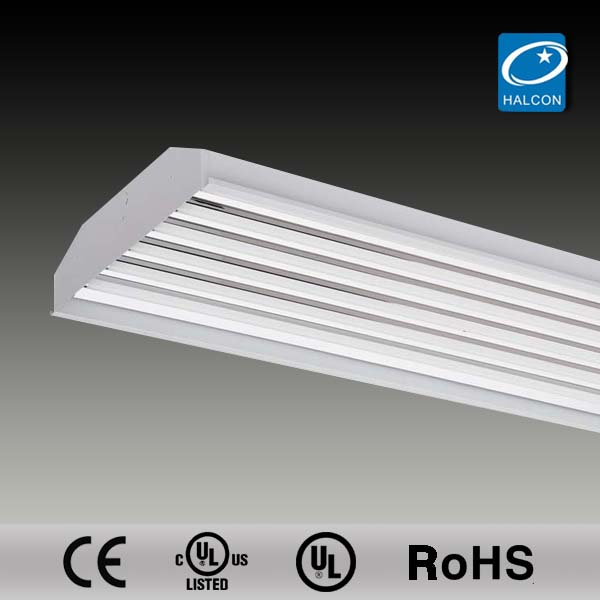 T5 t8 UL CUL ROHS CE high quality miro 4 reflector led warehouse lighting fixtures