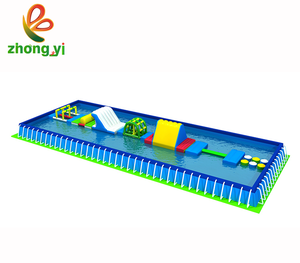 Newest Floating Funny Swimming Pool Inflatable Water Park