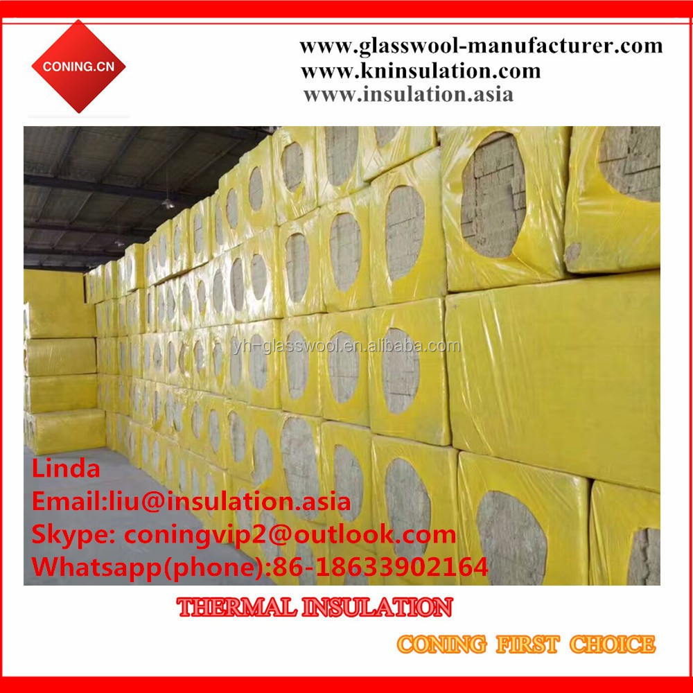 Fireproof insulation heat sealing aluminum foil facing on for Fireproof wall insulation