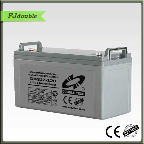 solar battery 12V 120AH ,aroma rechargeable battery,deep cycle battery