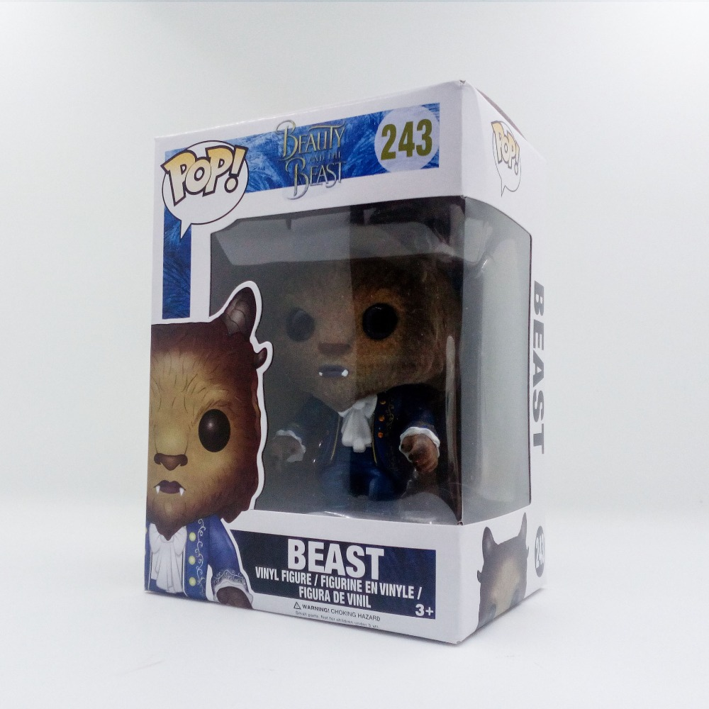 NO.243 Beauty and the beast Funko Beast action figure cartoon doll gifts toys