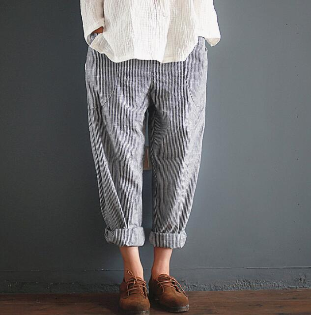 5cddf7e47871 China Women Linen Pants