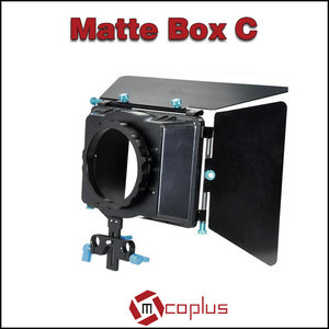 Mcoplus Professsional 4x4 and 4x5.6 Filter Tray Aluminum Camera Matte box for Canon/Sony/Nikon/Pentax/Olympus/Pnanonic