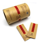 Custom Printed Laminated Kraft Paper Tea Packaging Film