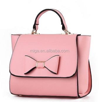 Fashion Las Erfly Bow Handbags