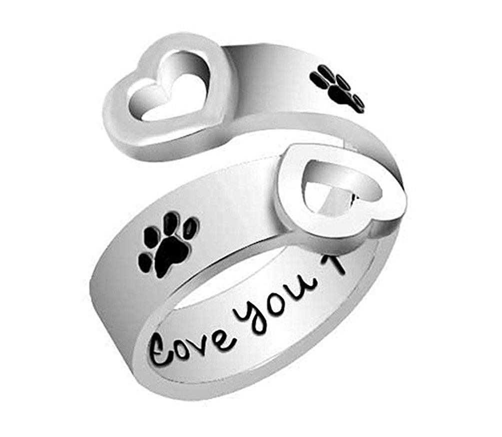 6319d090d Heart I Love You To The Moon And Back Dog Paw Mickey Mouse Charm Beads Fit  Pandora Jewelry Bracelet
