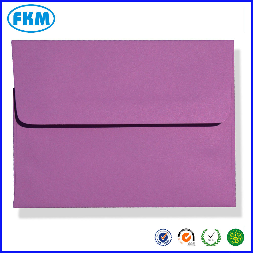 personalized cheap Colored Greeting Card Envelopes A2 with Shenzhen supplier