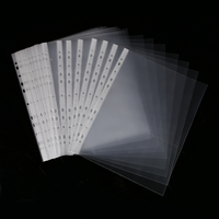 b5 a5 file clear plastic clear sheet protector