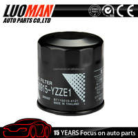 2015 top quality chinese manufacturer Applicable for TOYOTA GUD Z212 engine Oil filter OEM 90915-YZZE1
