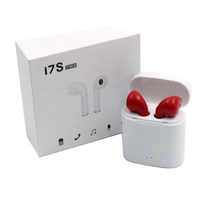Wholesale price i7 TWS i7S in ear Mini sports mobile phone Wireless earphone & headphone With Charging stand case