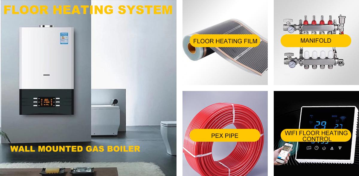 Hoge Kwaliteit Vloerverwarming Koolstofvezel Verwarming Film 50 cm/80 cm/100 cm