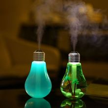 Home USB Light Bulb Shape Aroma Ultrasonic Humidifier Wholesale Aromatherapy Diffuser