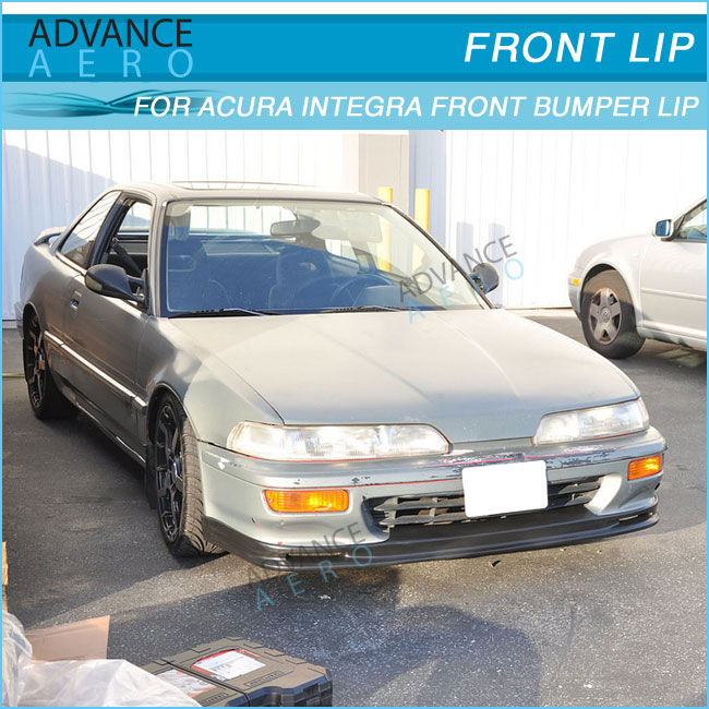 For 92-93 Acura Integra MUG Style Front Bumper Lip Spoiler Urethane
