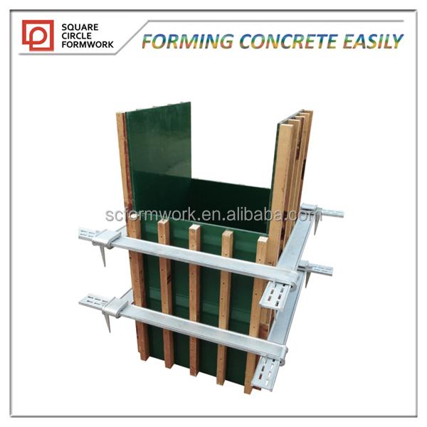 F cil manejo de la construcci n modular sistema de encofrado de hormig n encofrados - Construccion modular hormigon ...
