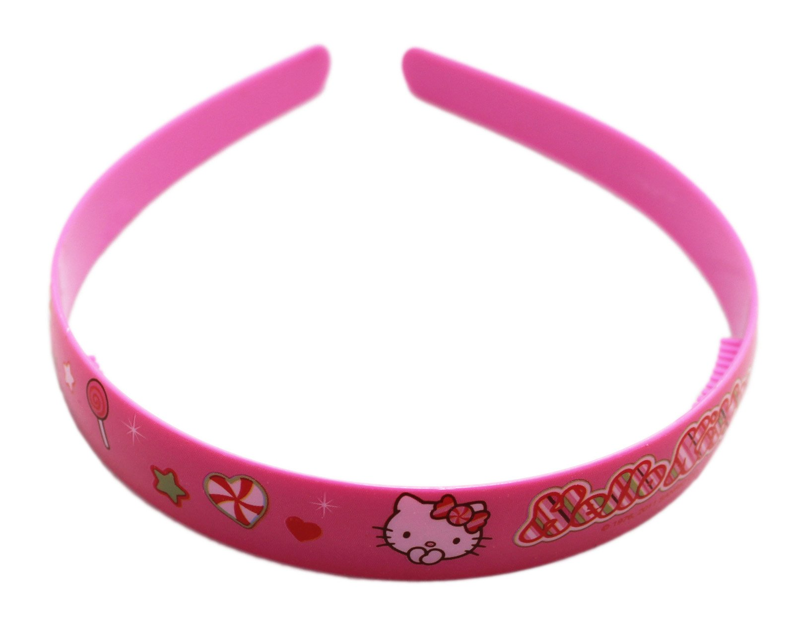 949097fa8 Get Quotations · Hello Kitty Candy and Sparkles Pink Colored Girls Headband