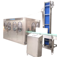 XGF14-12-5 3 in 1 bottle washing filling capping machine