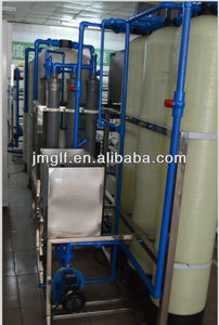 Water Treatment System Hot Sale Mineral drinking water filter machine / China high quality Double pass plating industry Deionize