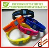 Promotional Customized Logo Wholesale Silicone Bracelet