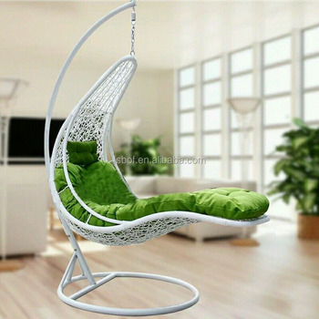 Boat Design Outdoor Patio Swing Hanging Pod Chair Adult Swing Chair