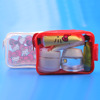 new design transparent toiletry bag, airline transparent pvc bag cosmetic cases