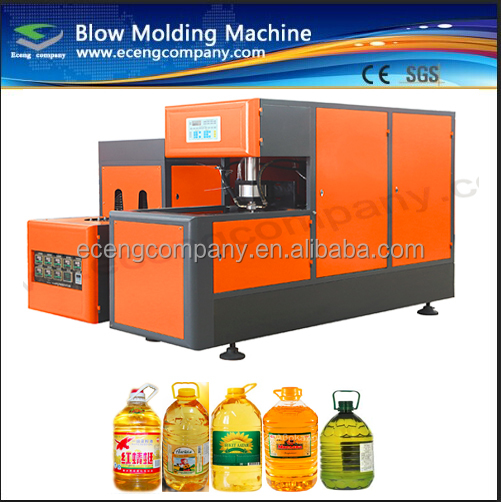5 gallon Semi auto pet blowing machines to make plastic bottles