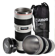New Zoom Lens Cup Mug For Coffee Tea Milk Water Canon Camera Lens