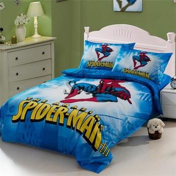 Whole Price Spider Man Bedding Sets For Boys Kids Set Cartoon Design