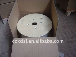 plastic bobbin for wire packing spool