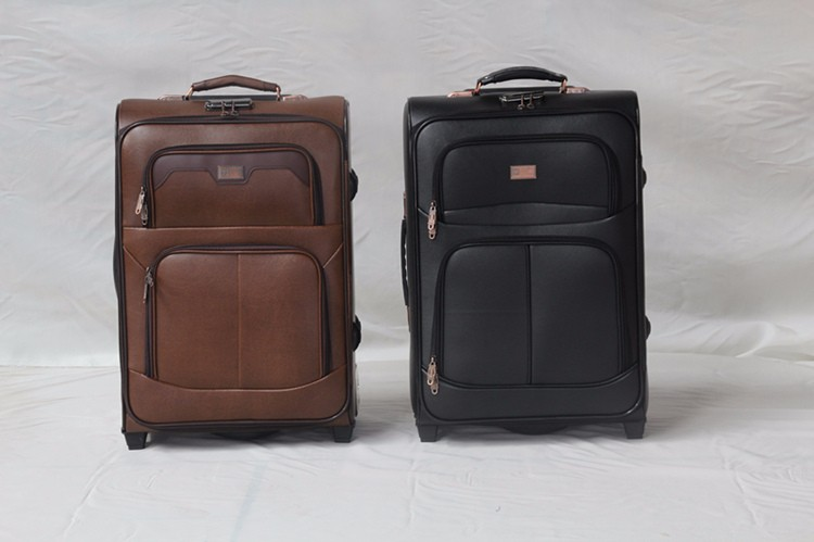 Hot Ing Carry On Abs Marketing Bags Colourful Pu Luggage Multiple Colors