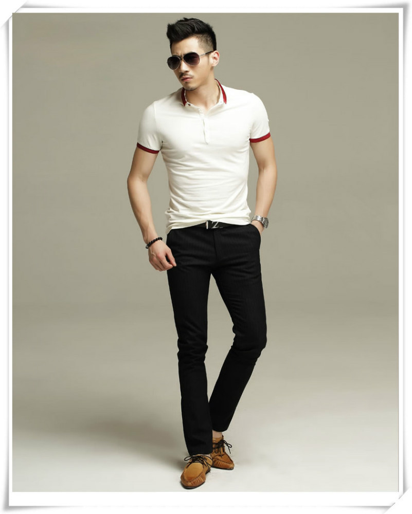7429e37237835 Fashion Mens Slim Fit Polo Shirt Design With Combination - Buy Polo Shirt  Design With Combination
