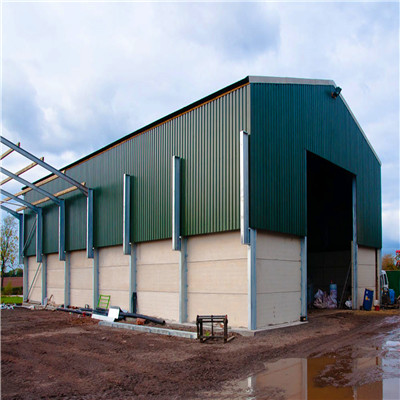 Light Commercial Agricultural Steel Pole Building Poultry Farm Buildings