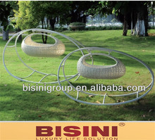 Bisini rattan wicker furniture/baby furniture/baby cradle swing (BF10-R536)
