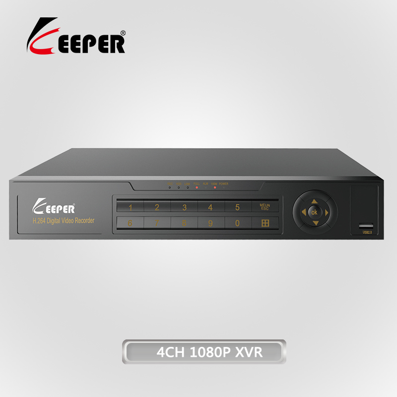 4CH 5 in 1 2MP AHD 1080P P2P CCTV <strong>DVR</strong>