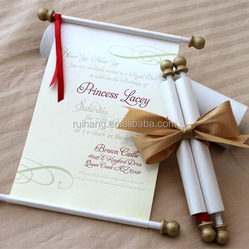 gold vintage metal bar scroll box with butterfly ribbon wedding