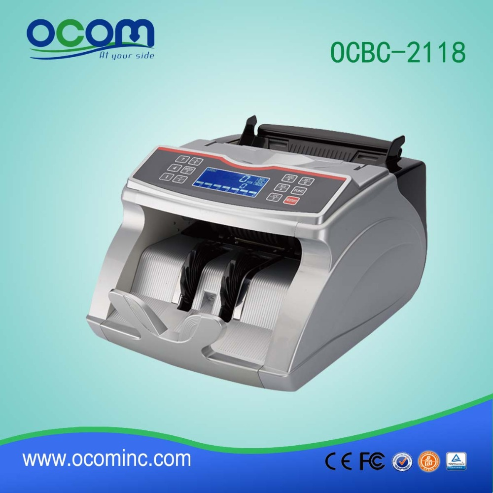 OCBC-2118: multi value mix currency money counter checking machine for sale