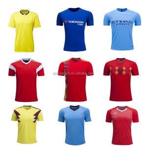 28dd31399 2018 2019 custom wholesale football shirt maker sublimated soccer jersey