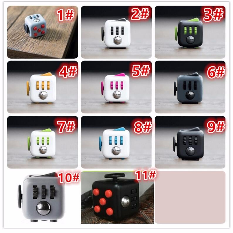 Wholesale 2017 Brand New Kids Fidget Cube Funny Magic Toys Puzzle ...