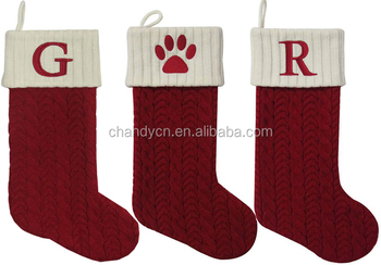 Cable Knit Christmas Stockings.Monogram Cable Knit Christmas Stocking Buy Monogram Christmas Stocking Cable Knit Monogram Stocking Christmas Stocking Product On Alibaba Com