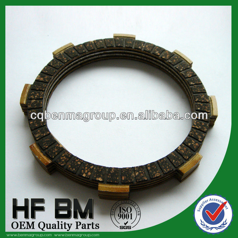 clutch plate Ax100,lutch Friction Plate AX100,common thickness 3.0mm with material paper bas, cork, rubber