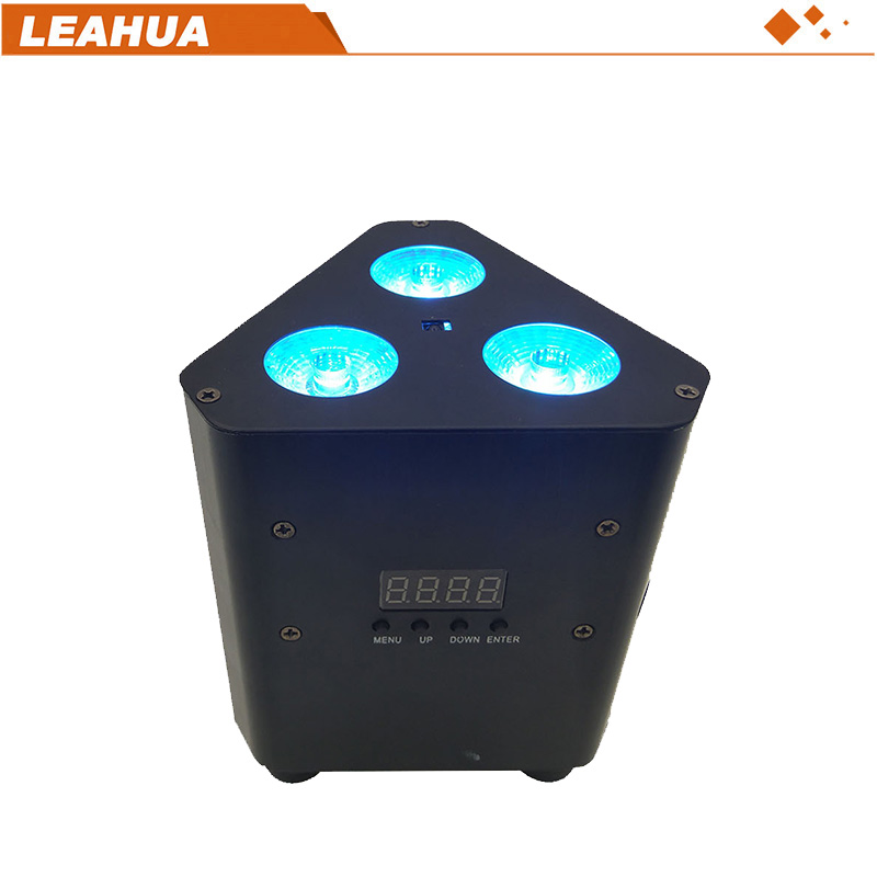 NEW PRODUCT!TRUSS BATTERY PAR LIGHT RGB 3IN1,3PCS*3W LED RGB 3IN1 MIXING COLOR(8pieces in one flight case to sale)