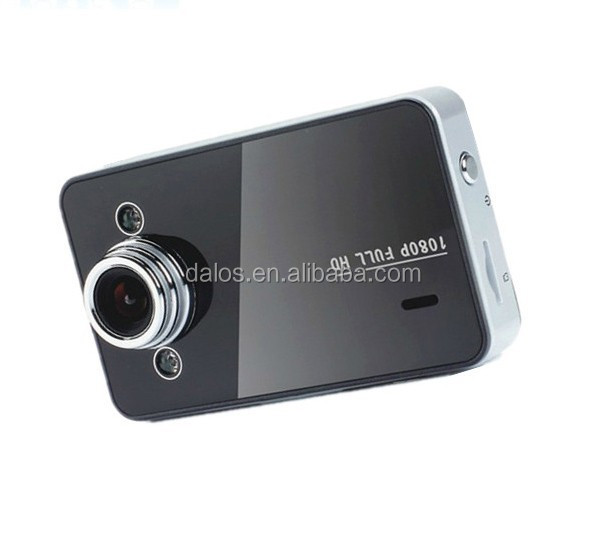 "DLS 2.7"" Car Dvr Full HD 1080P 120 Wide Angle Car Camera recorder K6000 With Night Vision Led Display 4 x Digital Zoom"