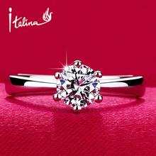 Luxusný dámsky prsteň s kamienkom z Aliexpress