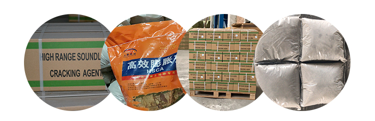 Guangdong Supplier Non Explosive Stone Cracking Chemical Powder