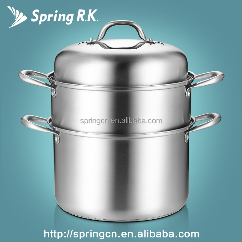 Stainless Steel 430# Classic Large Space cook pot idli steamer