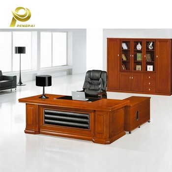 New Arrival Hot Minimalist Office Mdf Manager Desk With Mobile Extension Table