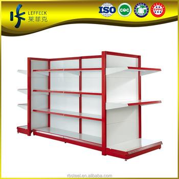 expanded metal supermarket shelf dividers