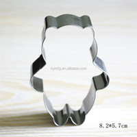 lovely Animal cookie cutter for teddy bear shaped cookie cutter