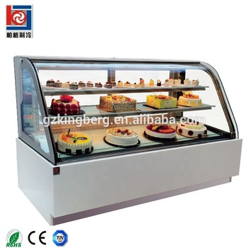 Cold storage cake showcase cabinet display refrigerator