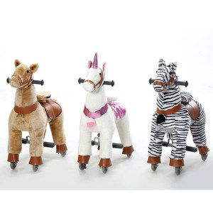 Kids love mechanical walking horse,plush riding walking horse toy,mechanical horse toys for sale